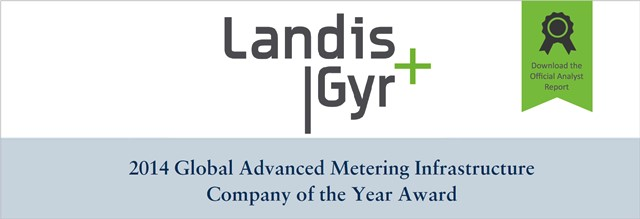 Landis+Gyr 2014 Global AMI Company of the Year Award - Download the Analyst Report